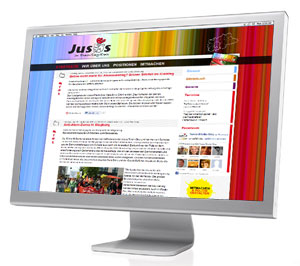 Neue Juso Homepage