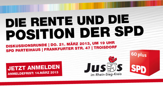 Die Rente und die Position der SPD